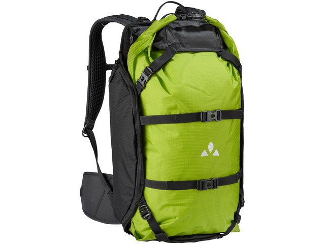 VAUDE Trailpack Mochila 27l, black/green